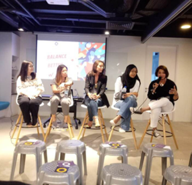 Panelist for International Women's Day at IPG